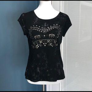 ROCK & REPUBLIC Top Shirt Sz Med